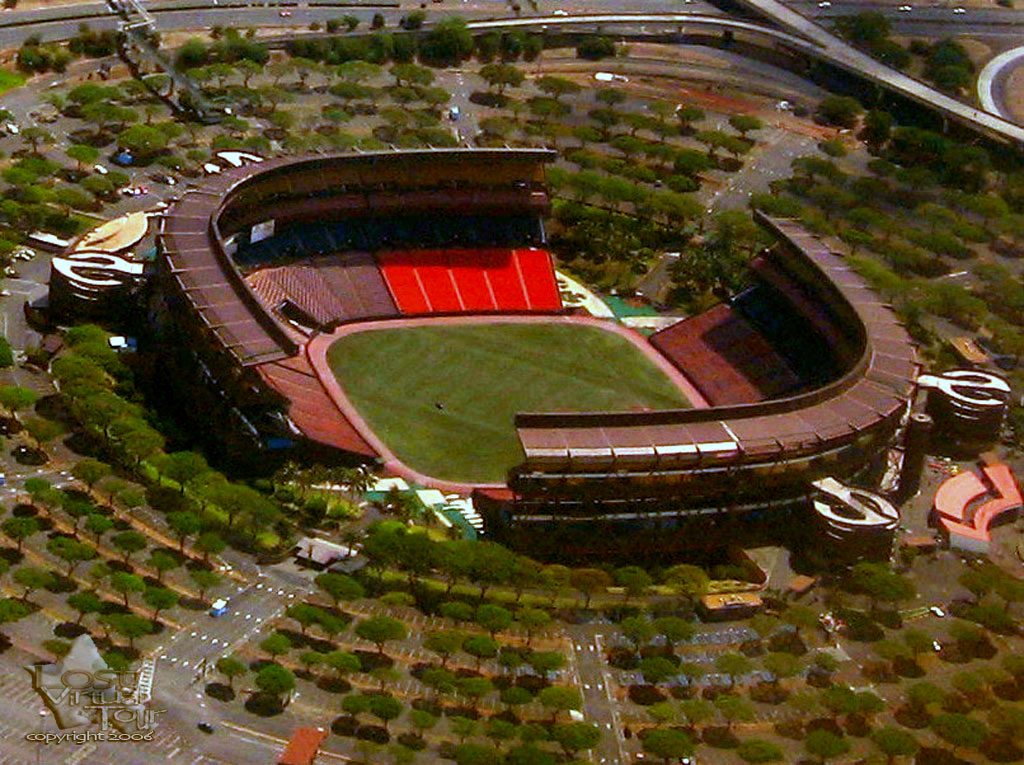 Awesome Aerial Shots Of Hawai I S Aloha Stadium