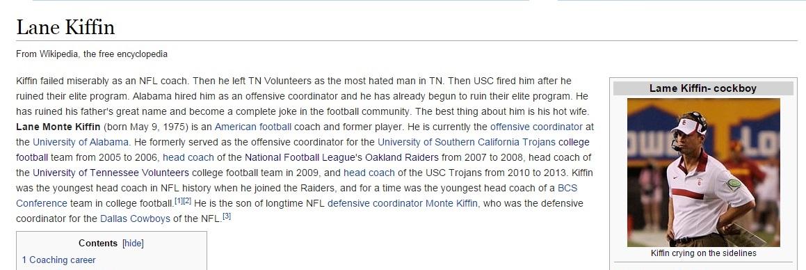 Tosh o wikipedia
