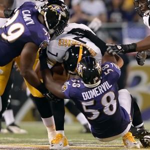 Ravens sack Roethlisberger