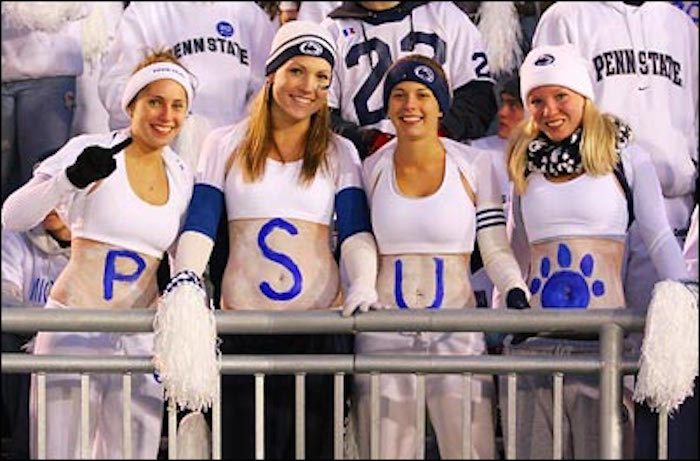 Are not Nude penn state girls right! Idea